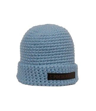 Poederbaas Winter sports hat - light blue