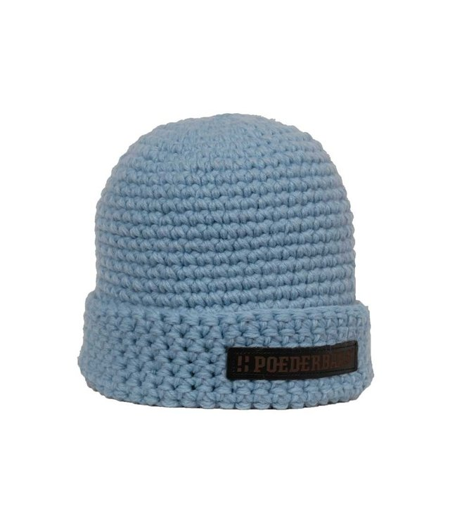 Poederbaas Wintersportmütze - hellblau