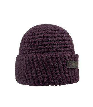 Poederbaas Winter sports hat - burgundy red