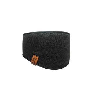 Poederbaas Sport Performance Stirnband - schwarz