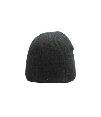 Poederbaas Daily Basic beanie - black