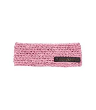 Poederbaas Headband with fleece - pink