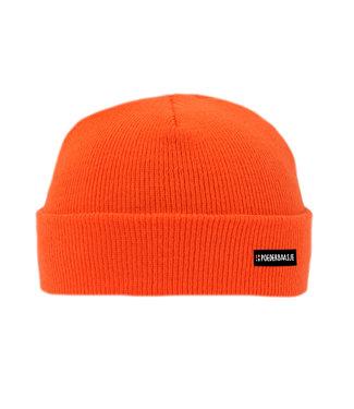 Poederbaas Blaze orange Kindermütze