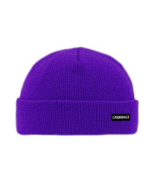 Poederbaas Purple Rain kids beanie