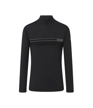 Descente PARRY T-NECK BLACK
