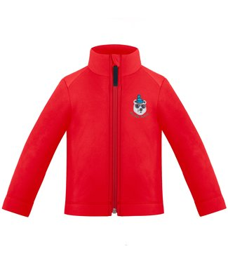 Poivre Blanc BABY BOY FLEECE JACKET SCARLET RED