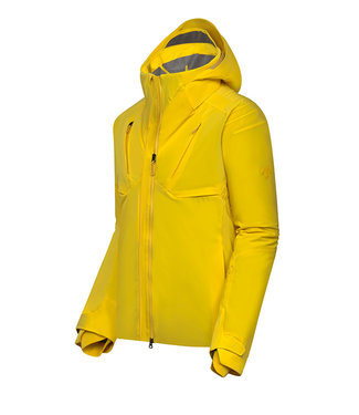 Descente SIO INSULATED JACKET YELLOW