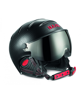 Kask Elite Pro Light Carbon Zwart/Rood