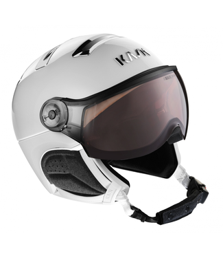 Kask Chrome White / Zilver Photochromic vizier
