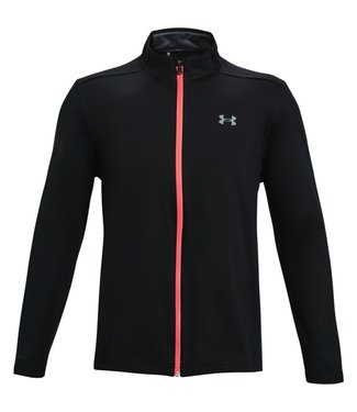 Under Armour UA Storm Midlayer Full Zip-Black / Red