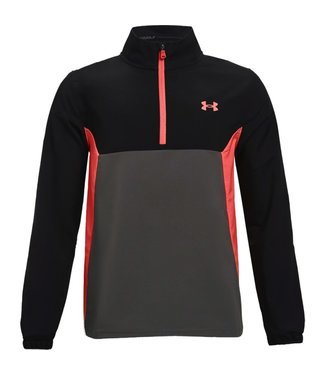 Under Armour UA Storm Windstrike with short zipper Black / Red