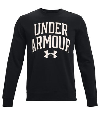 Under Armour UA RIVAL TERRY CREW-Black / Onyx White