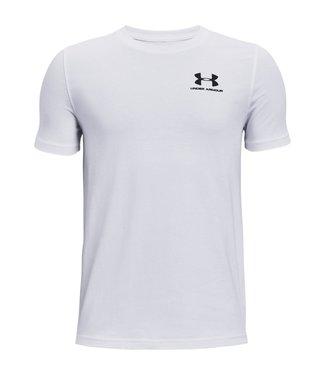 Under Armour UA Cotton SS-White / Black
