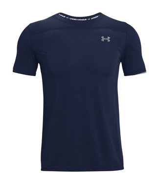 Under Armour UA Training Vent 2.0 SS-Academy/Blauw/Wit