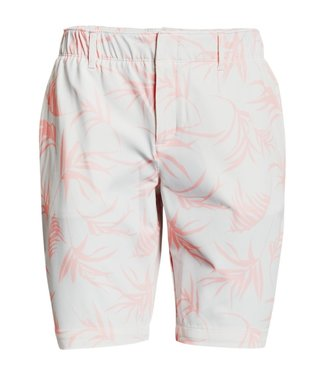 Under Armour UA Links Printed Short-Wit/Roze