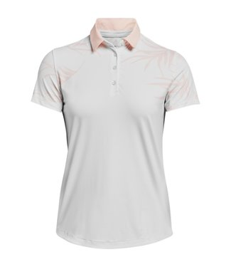 Under Armour UA Iso-Chill SS Polo-White short sleeves