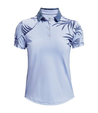 Under Armour UA Iso-Chill SS Polo-Isotope Blauw