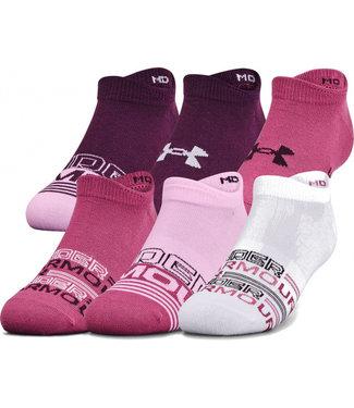 Under Armour UA Ladies Essential NS-Pink Quarz / 6er Pack