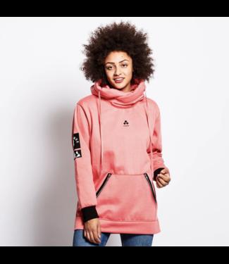 Oneskee Waterdichte dames hoodie Roze