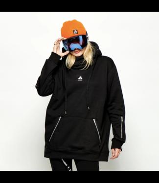 Oneskee Waterproof ladies hoodie Black