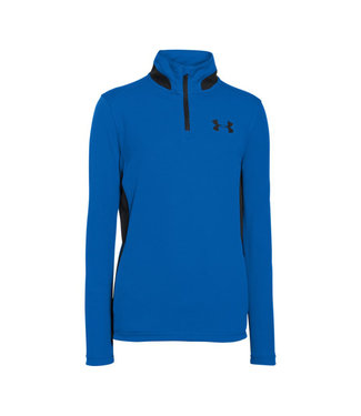 Under Armour UA AG GOLF 1/4 ZIP TOP ULTRA BLUE / BLACK BOYS
