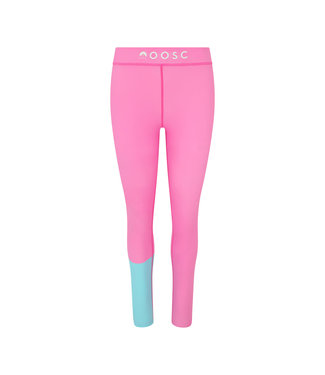 OOSC Bright Pink Women's Baselayer Leggings