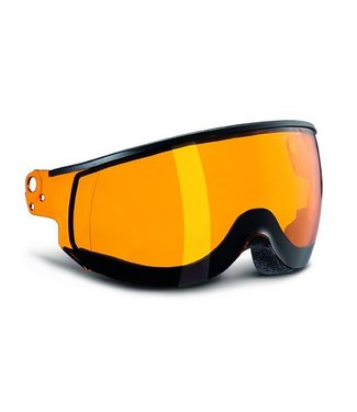 Kask Double Visor Piuma Orange (Only shipping to US & Canada)