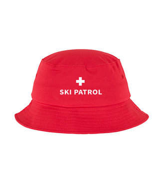 Poederbaas Sombrero de pescador de patrulla de esquí Powder Boss