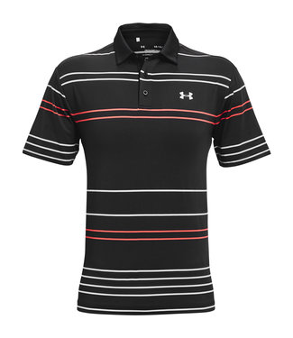 Under Armour Playoff Polo 2.0-Schwarz / Rot