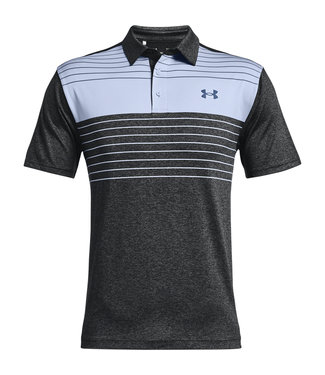 Under Armour Playoff Polo 2.0-Black / Isotope Blue