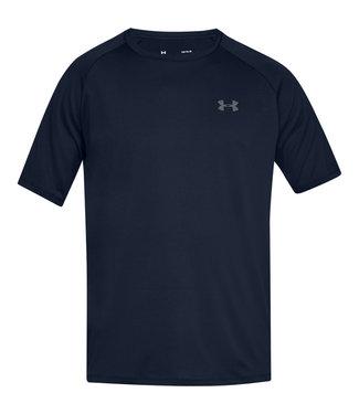 Under Armour Camiseta UA Tech 2.0 SS - Azul marino / Academy