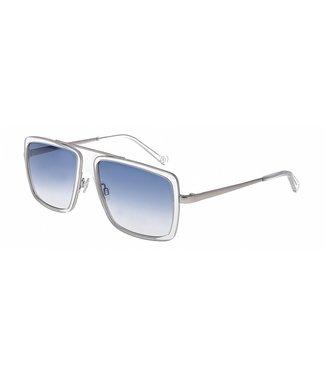 Bogner Sunglasses 7207/8100 - Silver transparent / Blue