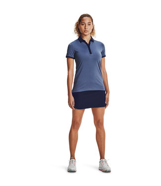 Under Armour Zinger SS Novelty Polo-Mineral blue
