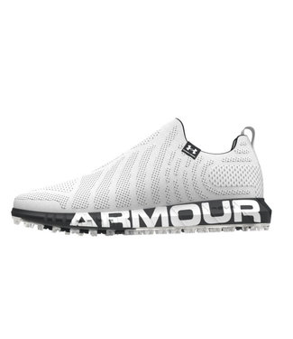 Under Armour Zapatos de golf HOVR Knit SL Blanco