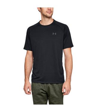 Under Armour Camiseta de manga corta UA Tech ™ 2.0 negra para hombre