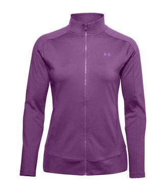 Under Armour Women's UA Storm Midlayer Full Zip Sweater - Purple