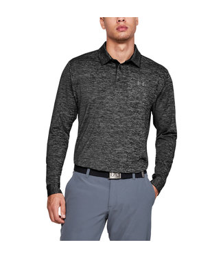 Under Armour Men's polo Playoff 2.0 long sleeves Gray