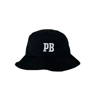Poederbaas Gestickter schwarzer PB Bucket Hat