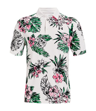 Under Armour UA Playoff Polo 2.0-Wit / Bloemen