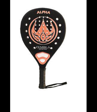 ZEMBLA Padelracket Alpha - Zwart