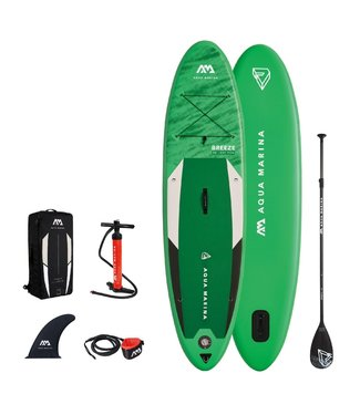 Breeze inflatable SUP board green 2021