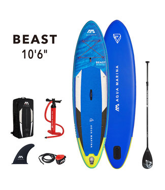 Beast inflatable SUP board 10'6 Blue 2021