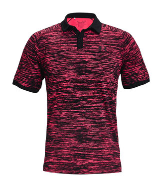 Under Armour UA Iso-Chill ABE Twist Polo-Rosa
