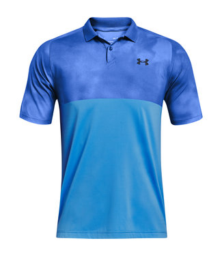 Under Armour UA Iso-Chill Afterburn Polo - Blau
