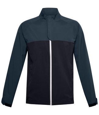 Under Armour Stormproof golf rain jacket-black