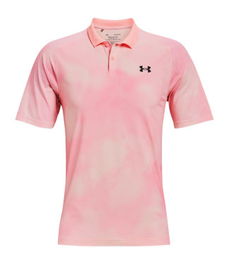 Under Armour UA Iso-Chill Afterburn Polo - Rosa