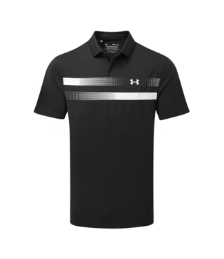 Under Armour UA Performance Polo Graphic Black / Logo White