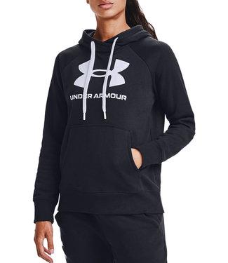 Under Armour Rival Fleece Logo Hoodie Schwarz