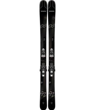 Rossignol EXPERIENCE 92 TI BASALT (OPEN) RAJFK01 SPX 12 GW B100 BLACK FCIA011