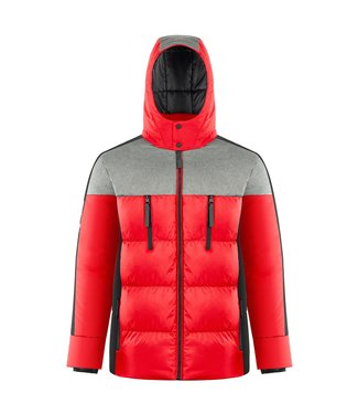 Poivre Blanc H-synthetic down jacket Red - Men